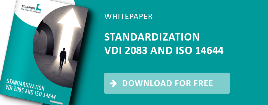 ISO 14644 and VDI 2083: connections and differences